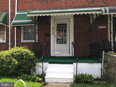2709 Uhler Avenue, Baltimore, MD 21215 - #: MDBA488020