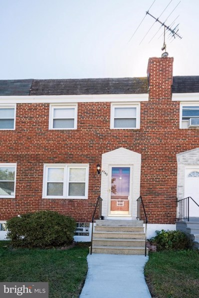 4745 Chatford Avenue, Baltimore, MD 21206 - #: MDBA488470