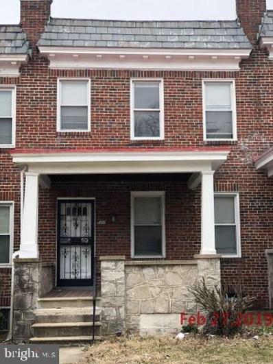 1408 North Rosedale Street N, Baltimore, MD 21216 - #: MDBA488506
