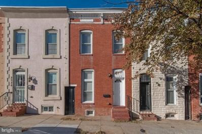 2328 E Fayette Street, Baltimore, MD 21224 - #: MDBA488700