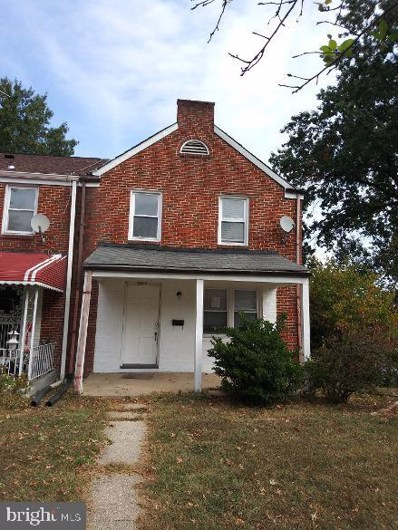 3819 Monterey Road, Baltimore, MD 21218 - #: MDBA489372