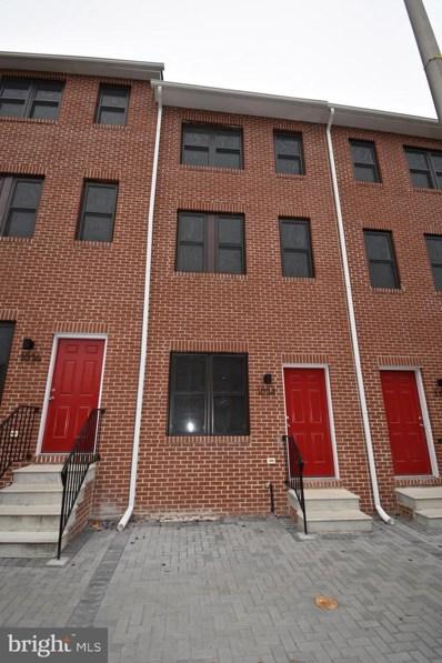 1034 W Fayette Street, Baltimore, MD 21223 - #: MDBA489436