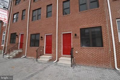 1035 W Fayette Street, Baltimore, MD 21223 - #: MDBA489438