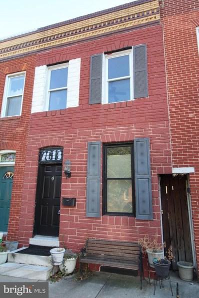 2613 Fait Avenue, Baltimore, MD 21224 - #: MDBA489482