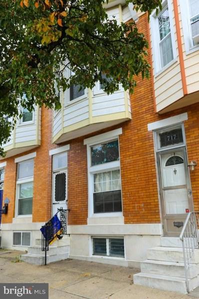 715 S Linwood Avenue, Baltimore, MD 21224 - #: MDBA489746