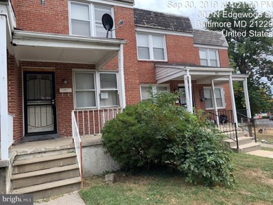 305 N Edgewood Street, Baltimore, MD 21229 - #: MDBA489892