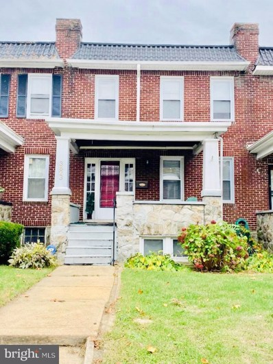 3823 Norfolk Avenue, Baltimore, MD 21216 - #: MDBA489960