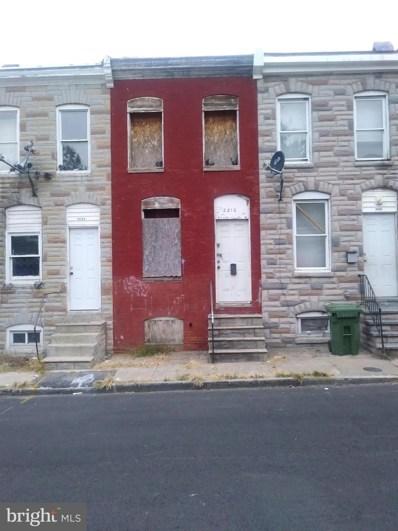 2210 Christian Street, Baltimore, MD 21223 - #: MDBA490012