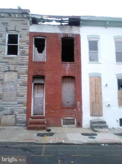 2213 Christian Street, Baltimore, MD 21223 - #: MDBA490022