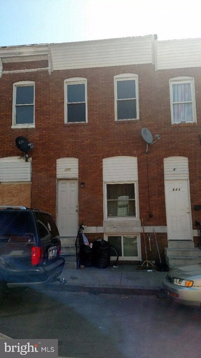 433 N Curley Street, Baltimore, MD 21224 - #: MDBA490070