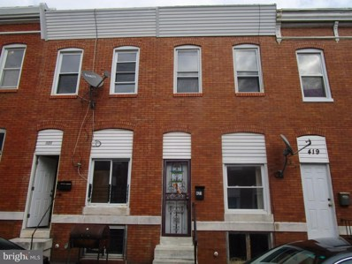 421 N Curley Street, Baltimore, MD 21224 - #: MDBA490112