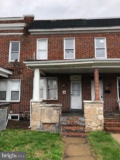 4604 Belair Road, Baltimore, MD 21206 - #: MDBA490218
