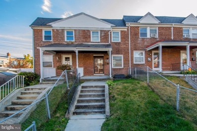 3803 Colborne Road, Baltimore, MD 21229 - #: MDBA490496