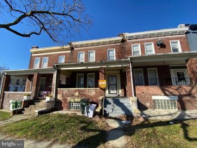 2806 Springhill Avenue, Baltimore, MD 21215 - #: MDBA490536