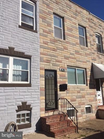 428 Fawcett Street, Baltimore, MD 21211 - #: MDBA490674