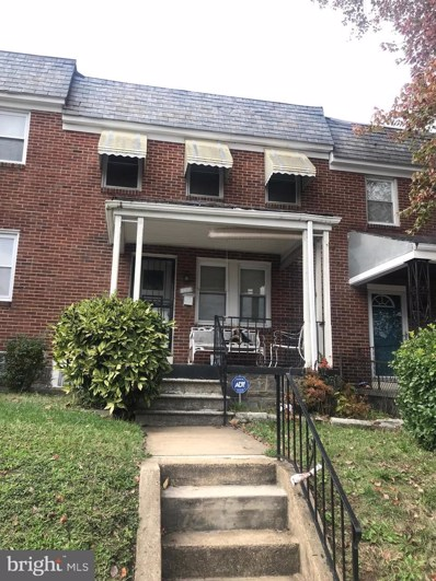 832 Mount Holly Street, Baltimore, MD 21229 - #: MDBA490870
