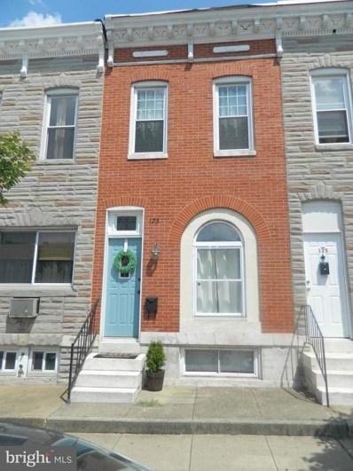 123 S Highland Avenue, Baltimore, MD 21224 - #: MDBA490924