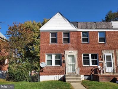 3634 Dudley Avenue, Baltimore, MD 21213 - MLS#: MDBA491158