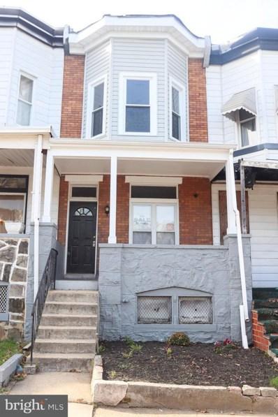 1622 N Bentalou Street, Baltimore, MD 21216 - #: MDBA491296