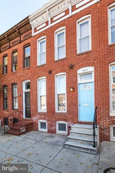 1023 S Hanover Street, Baltimore, MD 21230 - #: MDBA491554