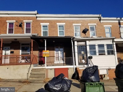 3142 Wilkens Avenue, Baltimore, MD 21223 - #: MDBA491726