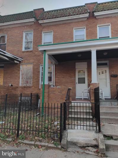 344 S Bentalou Street, Baltimore, MD 21223 - #: MDBA491740