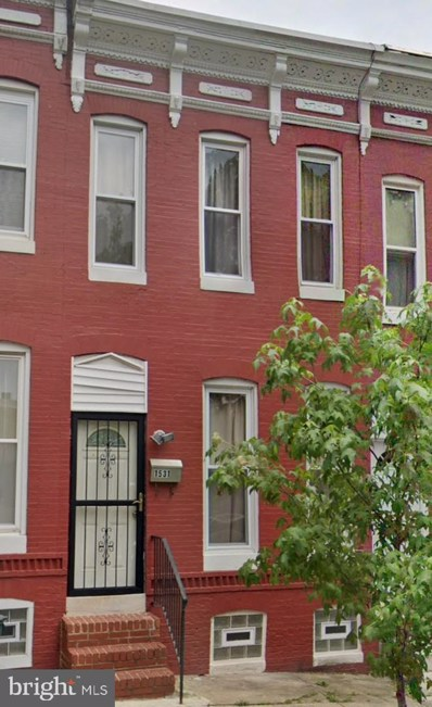 1531 Clifton Avenue, Baltimore, MD 21217 - #: MDBA492240