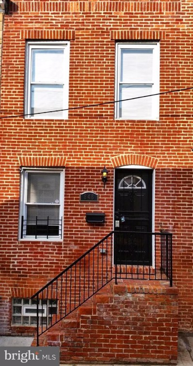 846 Reinhardt Street, Baltimore, MD 21230 - #: MDBA492286