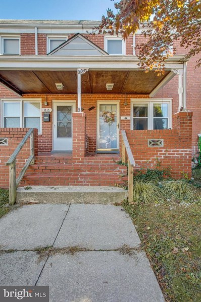 3717 Greenvale Road, Baltimore, MD 21229 - #: MDBA492326
