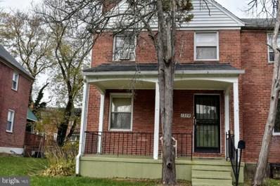 1378 Pentwood Road, Baltimore, MD 21239 - #: MDBA492496