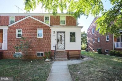 3913 Bancroft Road, Baltimore, MD 21215 - #: MDBA492518