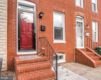 844 Woodward Street, Baltimore, MD 21230 - #: MDBA492582