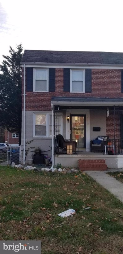 3719 Evergreen Avenue, Baltimore, MD 21206 - #: MDBA492664