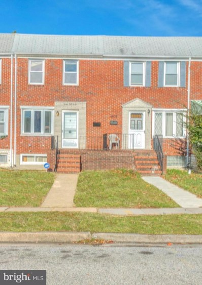 6806 Boston Avenue, Baltimore, MD 21222 - #: MDBA492950