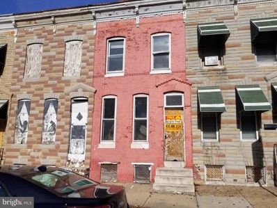 2104 W Fayette Street, Baltimore, MD 21223 - #: MDBA492968
