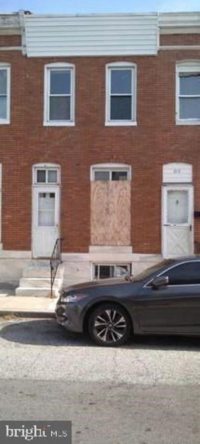 819 N Belnord Avenue, Baltimore, MD 21205 - #: MDBA492988