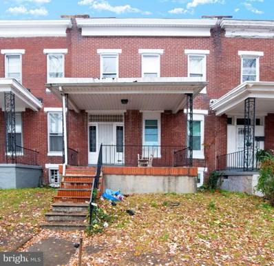 1604 N Pulaski Street, Baltimore, MD 21217 - #: MDBA493058