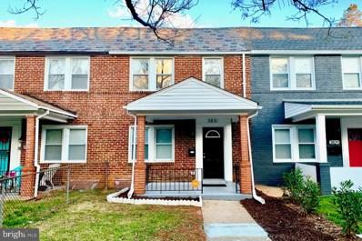 3831 Roland View Avenue, Baltimore, MD 21215 - #: MDBA493138