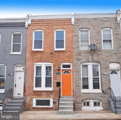 2204 Henneman Avenue, Baltimore, MD 21213 - #: MDBA493214