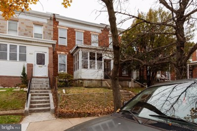 1827 Chilton Street, Baltimore, MD 21218 - #: MDBA493504