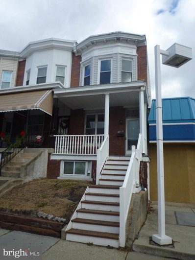 4109 Falls Road, Baltimore, MD 21211 - #: MDBA493628