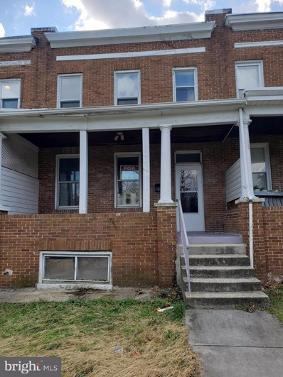 711 Springfield Avenue, Baltimore, MD 21212 - #: MDBA493650