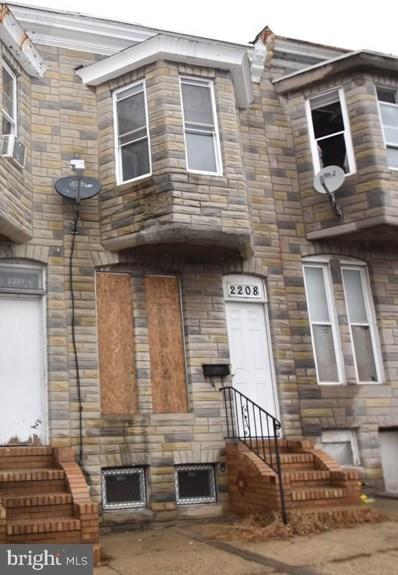 2208 Eagle Street, Baltimore, MD 21223 - #: MDBA493664