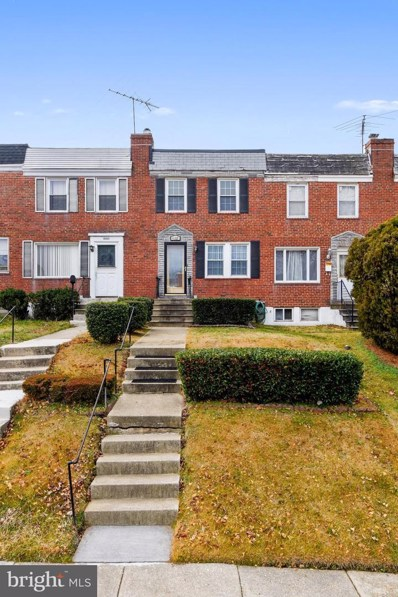 4107 Balfern Avenue, Baltimore, MD 21213 - #: MDBA493756