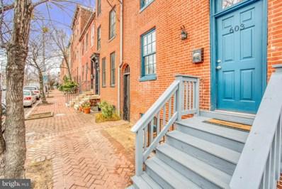 603 N Paca Street, Baltimore, MD 21201 - #: MDBA493826