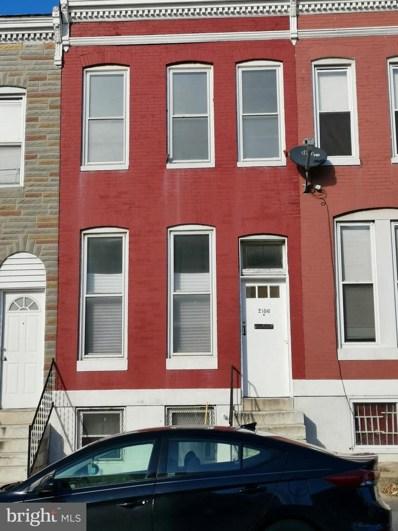 2106 Hollins Street, Baltimore, MD 21223 - #: MDBA493914