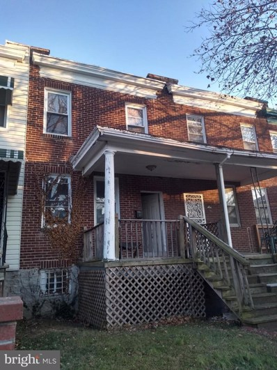 3703 Beehler Avenue, Baltimore, MD 21215 - #: MDBA493942