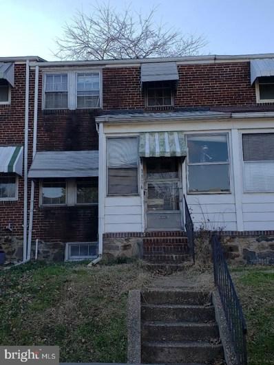 1116 Steelton Avenue, Baltimore, MD 21224 - #: MDBA494030