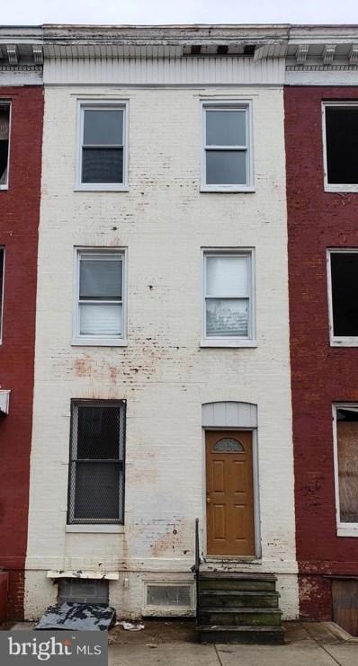 1905 W Lombard Street, Baltimore, MD 21223 - #: MDBA494170