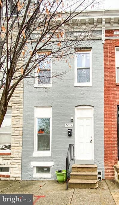2235 Jefferson Street, Baltimore, MD 21205 - #: MDBA494304